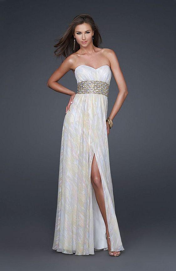 Spoločenské šaty La Femme 16372 - výpredaj