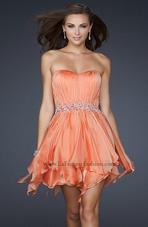 Spoločenské šaty La Femme 17544 výpredaj