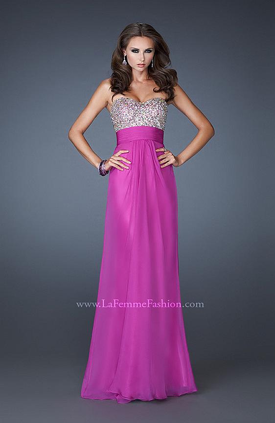 Spoločenské šaty La Femme 18528 - výpredaj