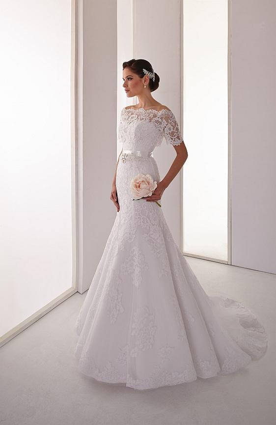 Svadobné šaty čipkované Wedding Gallery svadobný salón Bratislava