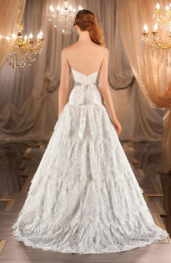Svadobné šaty vintage čipkované - Wedding Gallery svadobný salón Bratislava