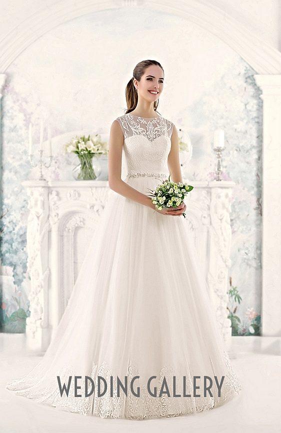 Čipkované svadobné šaty - výpredaj